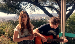 Silver Lake Los Angeles acoustic cover video