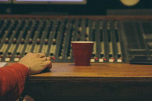 Studio recording @ Mailmen